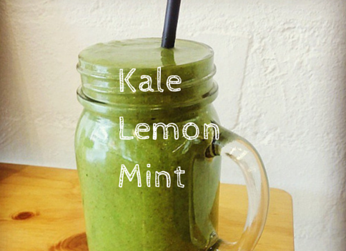 Kale, Lemon and Mint Detox Smoothie Green Smoothie Lovers