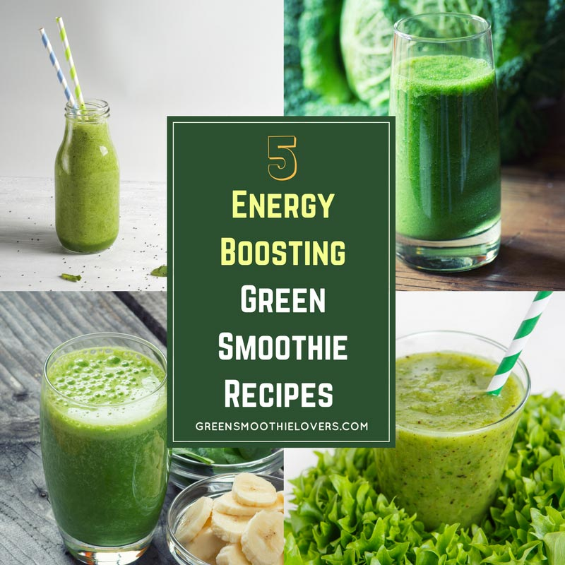 green smoothie energy boosting green smoothie lovers